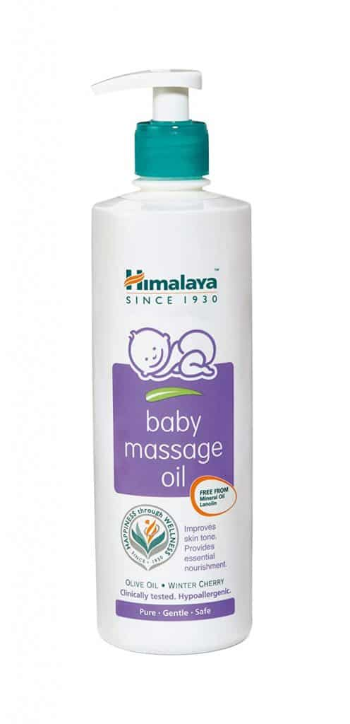 Best baby massage oil for newborn baby