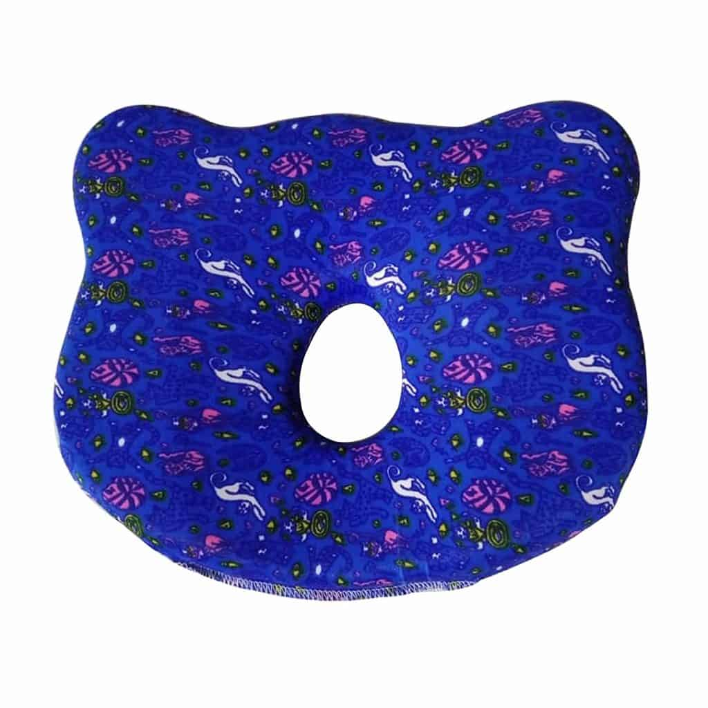 The White Willow Infant Baby Pillow for Preventing Head for Flat Head Syndrome