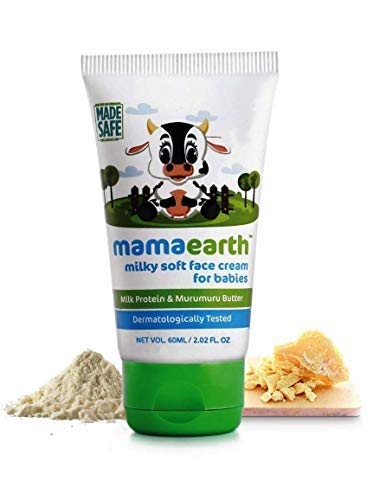 Mama Earth Milky Soft Natural Baby Face Cream