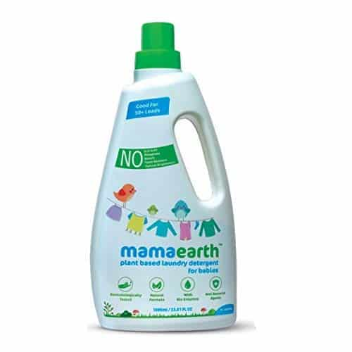 Mamaearth's plant-based laundry detergent